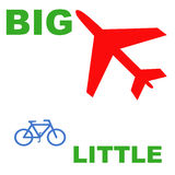 Big And Little Poster Stock Images