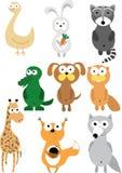 Big Animal Set Royalty Free Stock Image