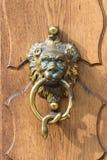 Big antique door knocker Royalty Free Stock Photos