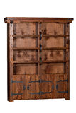 Big antique wooden case Royalty Free Stock Images