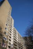 Big apartment houses. Seen in Kassel Brückenhof, Germany Royalty Free Stock Photography