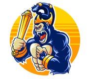 Big Ape Shaddow Puppet. Big ape wearing javanese shaddow puppet costume Stock Photos