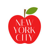 Big apple New York City Royalty Free Stock Photo