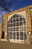 Big arc. Old building in Qazvin, Iran Royalty Free Stock Photos