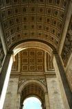 Big arch. Arc de Triomphe - Paris Stock Photo