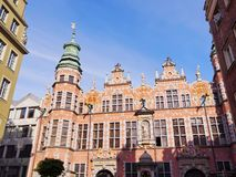 Big Armory in Gdansk, Poland Stock Photo