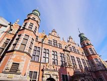 Big Armory in Gdansk, Poland Royalty Free Stock Photography