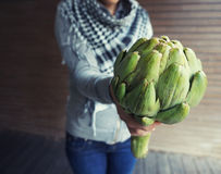 Big artichoke Stock Photos