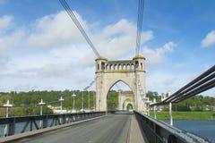Big asphalt bridge Stock Photo