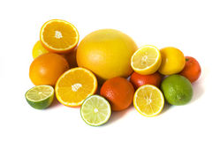 Big assortment of citrus Royalty Free Stock Photo