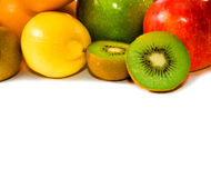 Big assortment of fruits Stock Photos