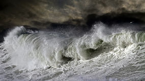 Big Atantic wave Stock Photography