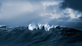 Big atlantic wave Stock Photos