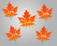 Big autumn sale Stock Photography