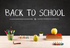 Big back to school writing concept Stock Photography
