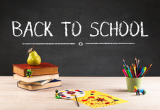 Big back to school writing concept Stock Photo