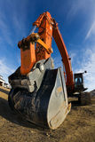 Big Backhoe Royalty Free Stock Images