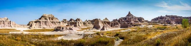 Big Badlands Overlook. Badlands South Dakota Royalty Free Stock Images