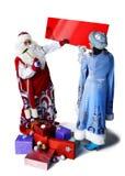 Big bag of Santa Claus Royalty Free Stock Images