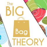 Big Bag Theory Colorful Circles Background Stock Photo