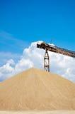 Big ballast pile Stock Photography