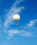 Big balloon on a background of the blue sky Stock Photography