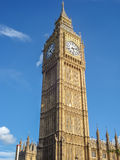 Big Ban Elizabeth tower clock face, London Stock Images