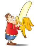 Big banana Stock Images
