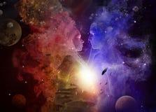 Big Bang Stockbilder