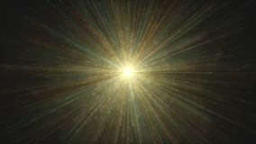 Big bang abstract background colorful light explosion stock footage