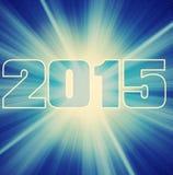 Big bang 2015 card Stock Images