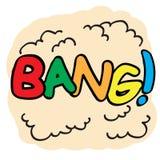 Big Bang Cartoon Royalty Free Stock Photo