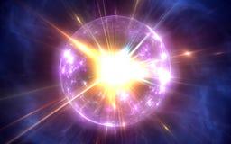 Big Bang et l'expansion de l'univers illustration stock