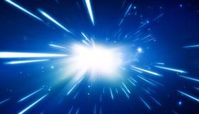 Big Bang - fond d'univers Photos stock
