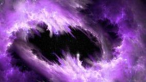 Big Bang-Fusion des SCHICKSALS Stockfoto