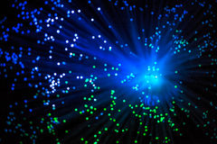 Big Bang gerou com luz especial Imagem de Stock