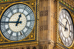 Big Bang's clock Stock Image