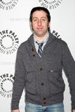 Big Bang Simon Helberg Arkivbilder