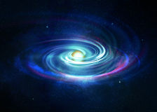 The Big Bang. Theory and the beginning of everything Royalty Free Stock Images