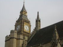 Big Bang Tower View. In London, Uk - House of Parliament stock photos
