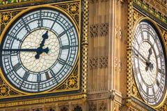 Big Bangs Uhr Stockbild