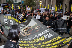 Big banner for Abolish Bear Bile Farming on 06 Mar Royalty Free Stock Photo