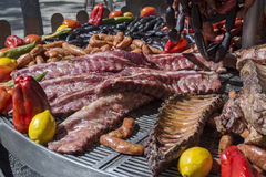 Big barbecue Royalty Free Stock Images