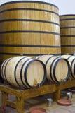 Big barrels Royalty Free Stock Photography