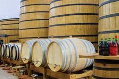 Big barrels Stock Photo