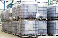 Big Barrels Stock Image