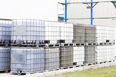 Big Barrels Stock Images