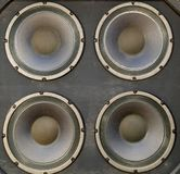 Big Bass Speaker Cabinet Royalty Free Stock Photography