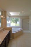 Big Bathroom. With Tile Floor Stock Image