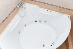 Big bathtub Royalty Free Stock Images